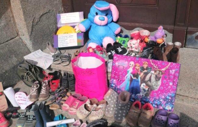 Wie in zahlreichen Städten und Gemeinden Mittelsachsens brachten Eltern die Sorge um ihre Kinder zum Ausdruck.