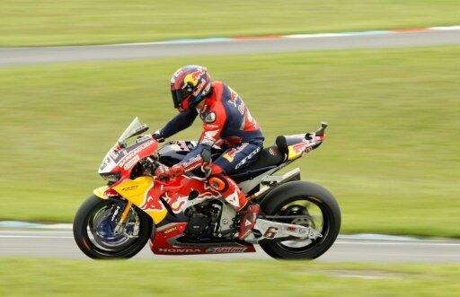 Stefan Bradl darf erneut an einem Grand-Prix teilnehmen