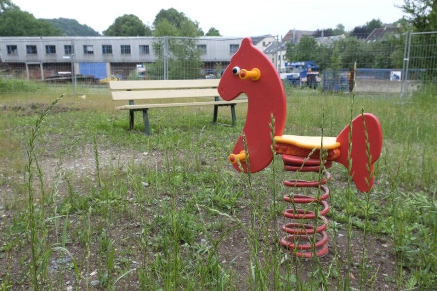 Spielplatz in Mylau: Auf Minimalvariante geeinigt