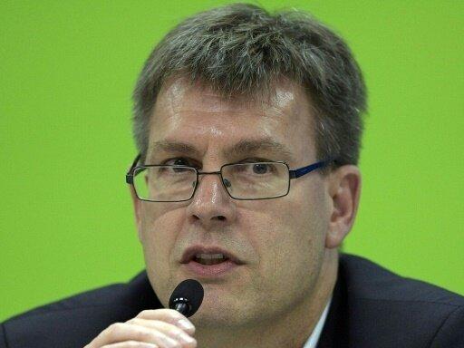 Thomas Weikert ist derzeit Präsident des ITTF