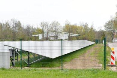 Neben dem Solarpark an der Nordstraße in Siebenlehn soll eine zweite Fotovoltaikanlage nahe der Autobahn entstehen. Der Bebauungsplan soll noch öffentlich ausgelegt werden.