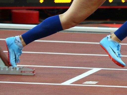 Katrin Müller-Rottgardt gewinnt Gold über die 100 m