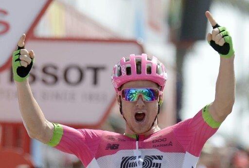 Simon Clarke gewinnt die fünfte Vuelta-Etappe