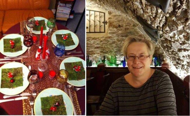 Die ganze Verwandtschaft kam zum erzgebirgischen Weihnachtsessen bei Andrea Dossler nach Berlin.