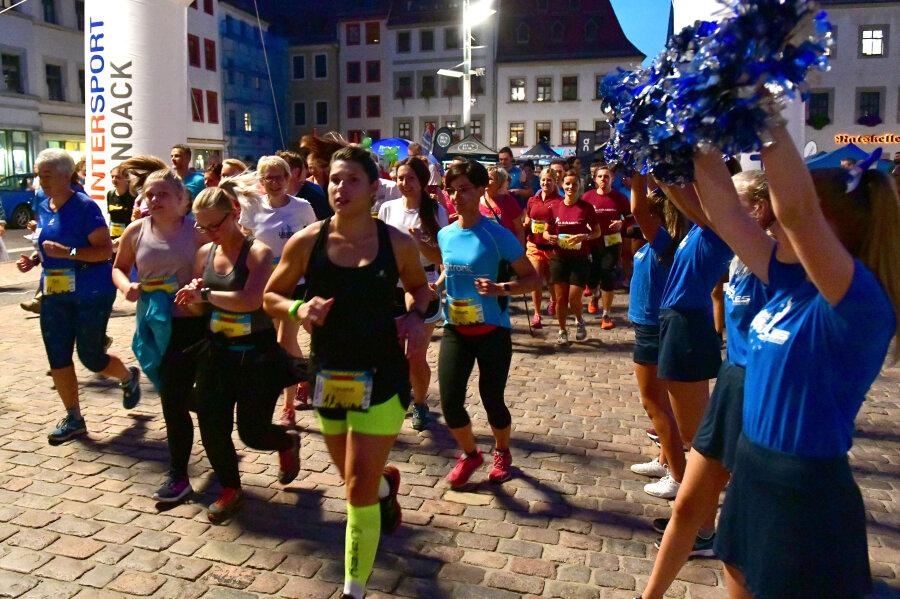 304 Starter bei Mittsommerlauf durch Freiberg