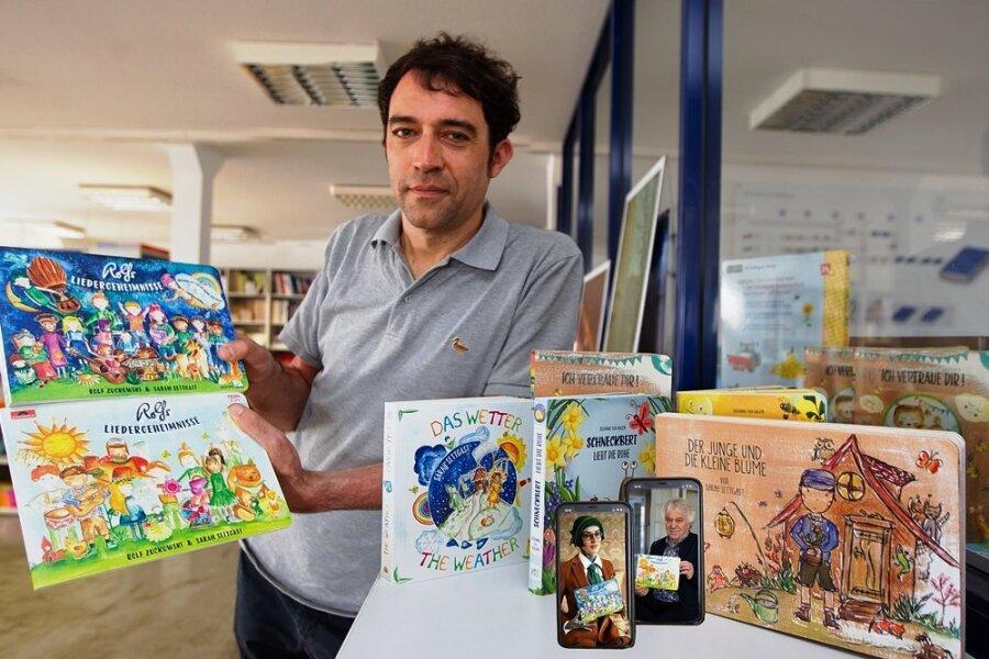 Sachsendruck-Geschäftsführer Ralf Fischer vertritt das Vogtland bei der Frankfurter Buchmesse.