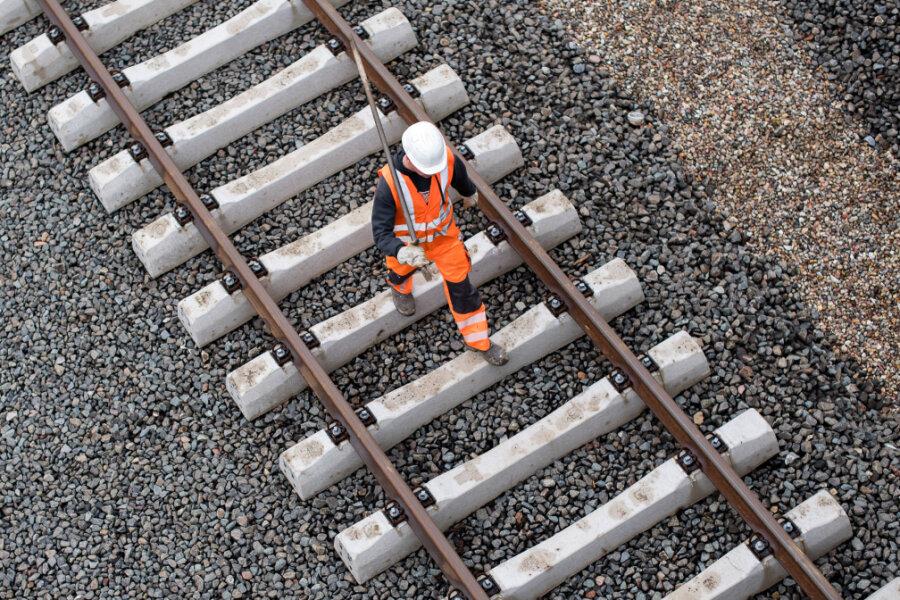 Sperrungen im Bahnverkehr südlich von Leipzig