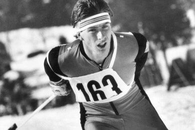 Uwe Bellmann während eines Wettkampfs Ende der 1980er Jahre.