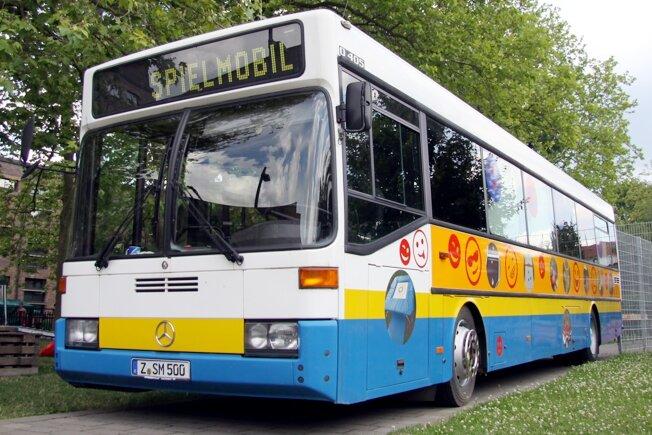 Zwickau: Spielmobil geht wieder auf Tour