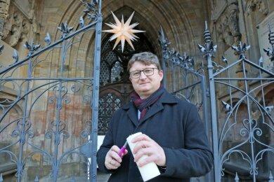 Dem Zwickauer Superintendenten Harald Pepel fällt es nicht leicht, die Weihnachtsgottesdienste in diesem Jahr absagen zu müssen. Offen bleiben die Kirchen aber dennoch.