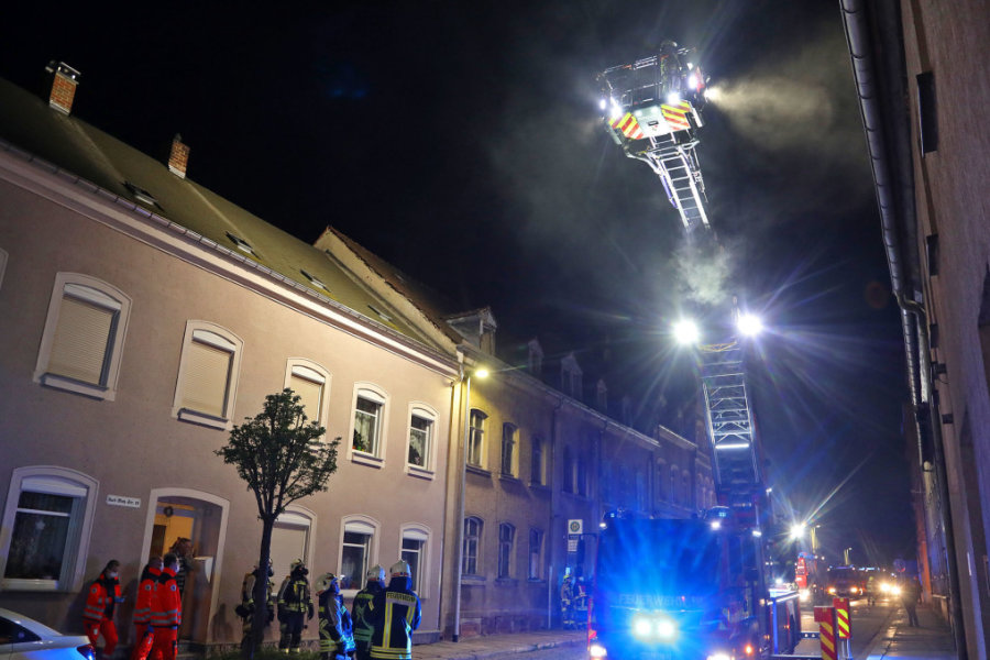Großeinsatz der Feuerwehr in Hohenstein