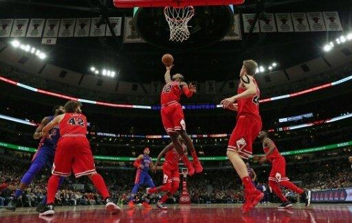 Die Chicago Bulls bezwingen die Detroit Pistons 107:105