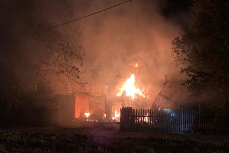 Wohnhaus und Scheune in Krummenhennersdorf niedergebrannt