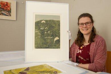 Um Arbeiten von Günter Weiß dreht es sich, sobald das Museum wieder öffnet. Kunsthistorikerin Sarah Brandt erstellt derzeit die Schau.