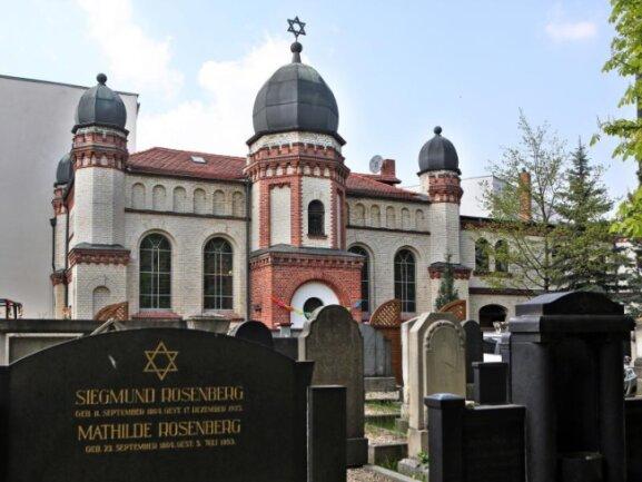 Die Synagoge der Jüdischen Gemeinde Halle/Saale.
