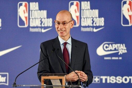 Adam Silver verlängert seinen Vertrag als NBA-Boss