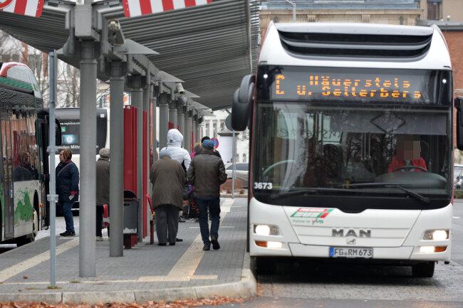 Noch führt die Linie C über den Freiberger Stadtteil Seilerberg. Mit dem Fahrplanwechsel am 9. Dezember wird die Linienführung dieser Linie stark geändert - was in dem Stadtteil für heftige Kritik sorgt.