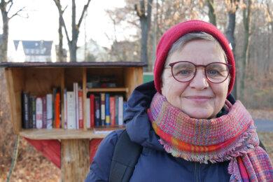 Frauke Woitsch initiierte ein Buchprojekt.