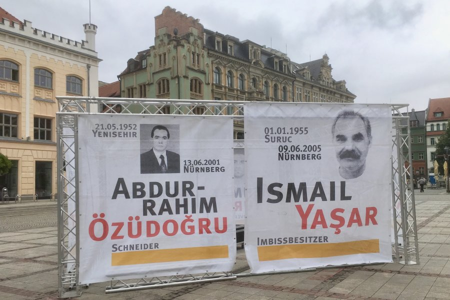 Aktionsbündnis gedenkt der NSU-Opfer