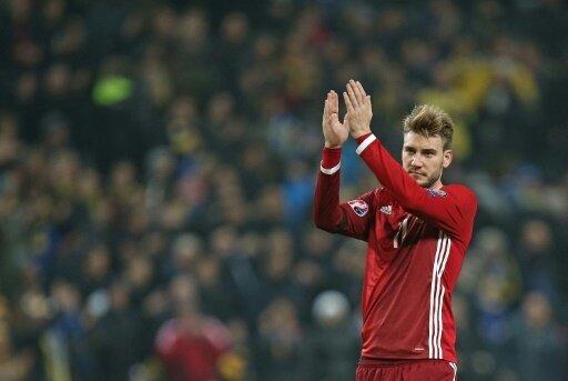 Muskelverletzung: Nicklas Bendtner für WM fraglich