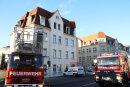 Am Mittwochmorgen sorgte ein Küchenbrand in Freiberg für eine kurzzeitige Sperrung der Dresdner Straße.