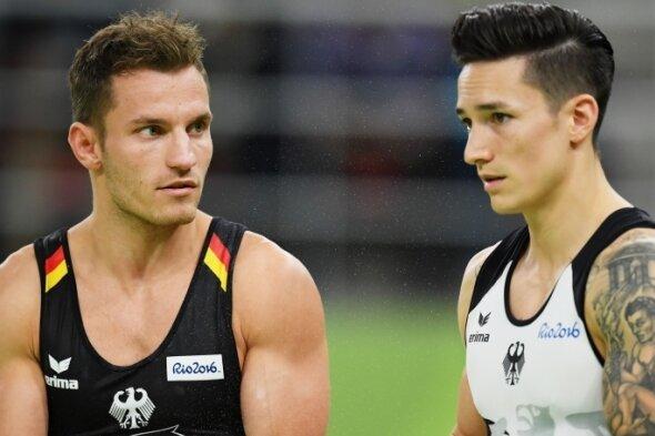 Ivan Rittschik Ivan Rittschik - Andreas Bretschneider (l.) und Marcel Nguyen turnten bei Olympia in Rio gemeinsam im deutschen Team.