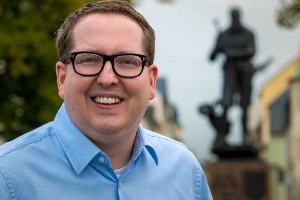 Tom Unger aus Lauterbach zieht als Nachrücker in den sächsischen Landtag ein. Sein Büro will er vermutlich in Zwönitz einrichten.