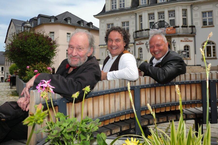 Prominenter Gast besucht Schwarzenberg
