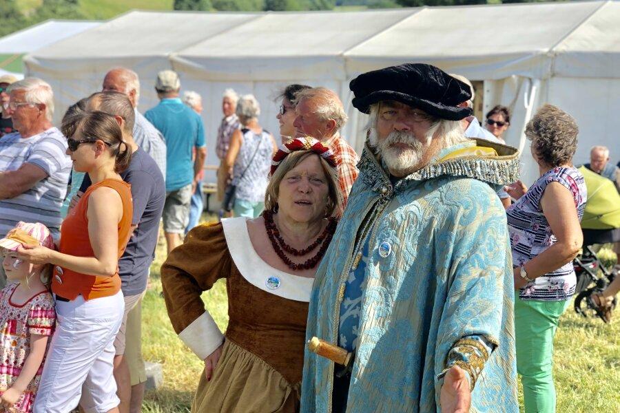 Ortmannsdorf feiert 800-Jähriges