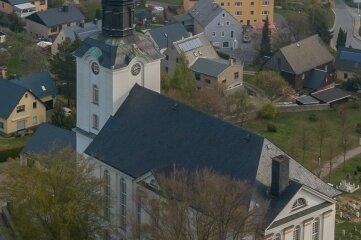 Die Kirche Mildenau ist einer der neuen Veranstaltungsorte beim Musikfest Erzgebirge.