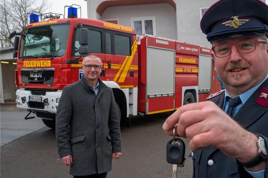 Feuerwehrauto für Rübenau  aus dem Tropical Island