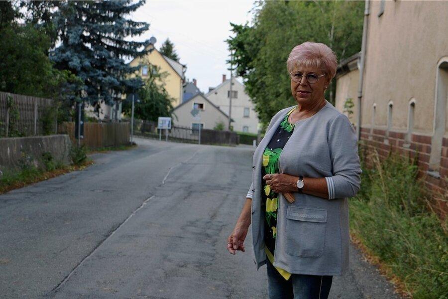 Das größte Problem in Ranspach ist für Gudrun Müller die desolate Durchfahrtsstraße. Bisher gab es immer wieder nur leere Versprechungen.