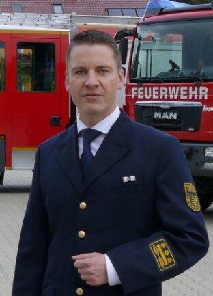 René Kraus designierter Amtsleiter der Chemnitzer Feuerwehr