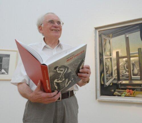 Hartmut Koch hat den Kunstsammlungen unter anderem 850 Druckgrafiken des Künstlers Wolfgang Mattheuer geschenkt.