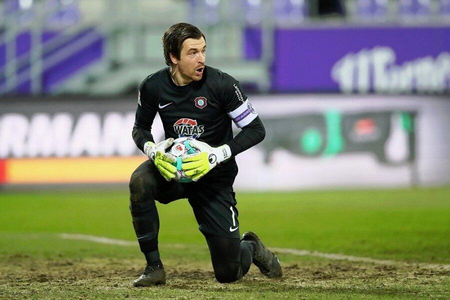 In 295 der 499 Spiele des FCE in der 2. Bundesliga stand Martin Männel im Auer Tor.
