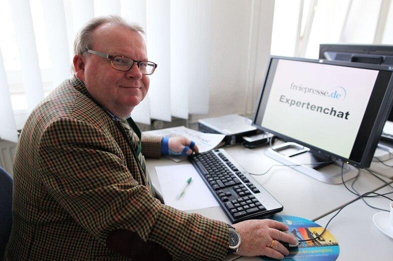 Prof. Lutz Kowalzick, Chefarzt der Hautklinik am Helios Plauen, beantwortete Fragen im Chat.
