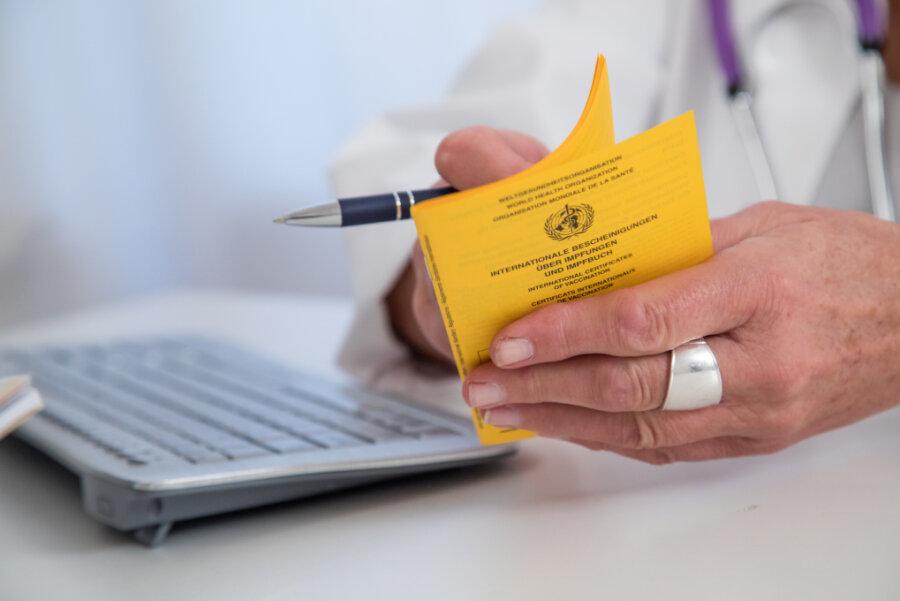 Wie die Stadtverwaltung Freiberg vom Sozialministerium erfuhr, darf sie die digitalen Impfnachweise nicht ausstellen.
