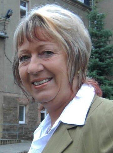 Barbara Nagel kehrt an ihren Arbeitsplatz im Callenberger Kindergarten zurück.