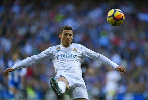 Cristiano Ronaldo traf bei Reals Kantersieg doppelt