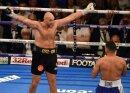 Tyson Fury (l.) vor Duell gegen WBC-Weltmeister  Wilder
