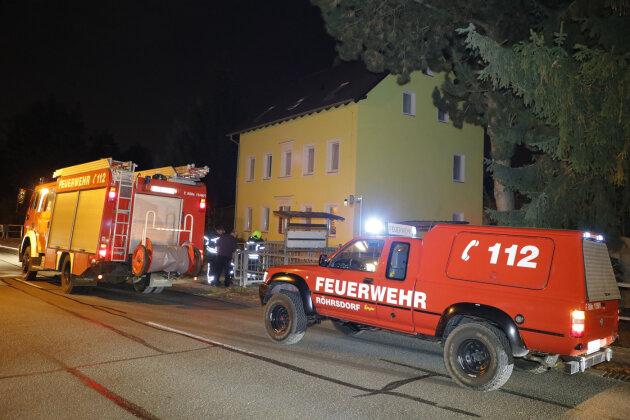 Technischer Defekt verursacht Kellerbrand in Röhrsdorf