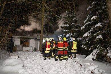 Die Feuerwehr konnte den Brand zügig löschen.