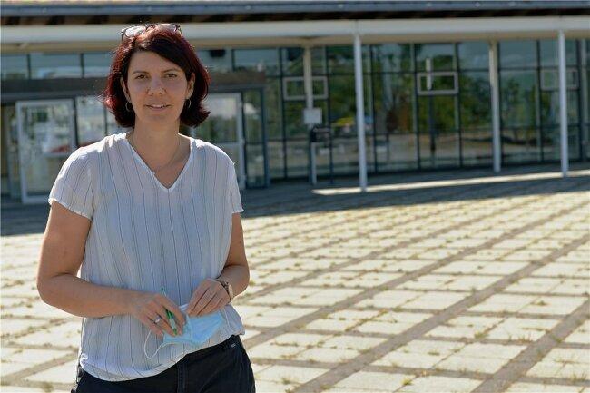 Manuela Kunath ist die Schulleiterin des Cottagymnasiums Brand Erbisdorf. Foto: Eckardt Mildner/Archiv