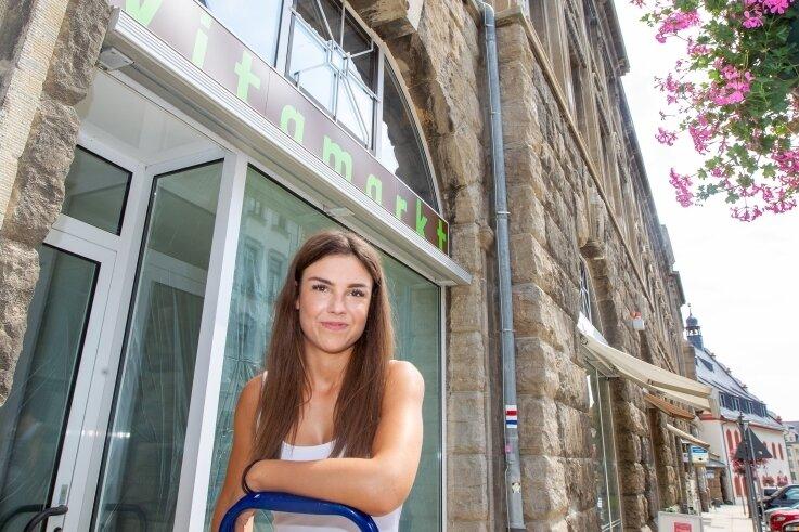 """Anna Wollner hat das Startup """"Vitamarkt"""" gegründet. An der Marktstraße 2 öffnet im September die erste Filiale."""