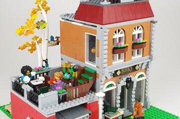 Ein Schmuckstück ist dieser Lego-Buchladen, der vom elfjährigen Mathis gebaut wurde.