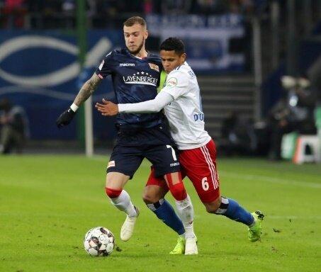 Union Berlin erkämpft sich einen Punkt beim Hamburger SV