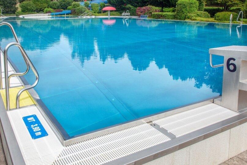 Still ruht der Badeteich. Auch in Oederan ist das Erlebnisbad auf Grund der zuletzt kühlen und wechselhaften Witterung bereits geschlossen.