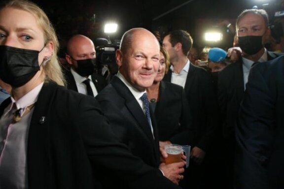 Die SPD will mit Olaf Scholz den nächsten Kanzler stellen.