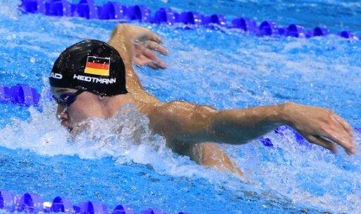 Die gemischte Staffel um Heidtmann steht im EM-Finale
