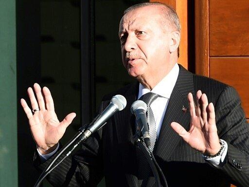 Erdogan erhebt Rassismusvorwürfe gegen Deutschland